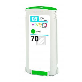 Hewlett Packard Tintenpatrone grün (C9457A, 70)