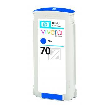 Hewlett Packard Tintenpatrone blau (C9458A, 70)