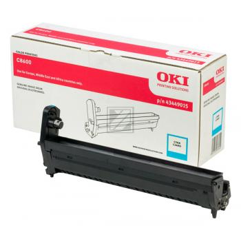 OKI Fotoleitertrommel cyan (43449015)