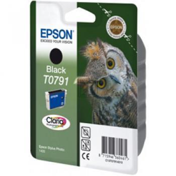 Epson Tintenpatrone schwarz (C13T07914010, T0791)