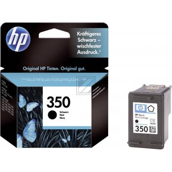 Hewlett Packard Tintenpatrone schwarz (CB335EE, 350)