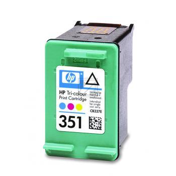 Hewlett Packard Tintenpatrone cyan/gelb/magenta (CB337EE, 351)