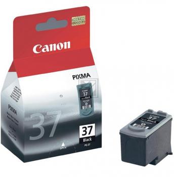 Canon Tintenpatrone schwarz (2145B001, PG-37)