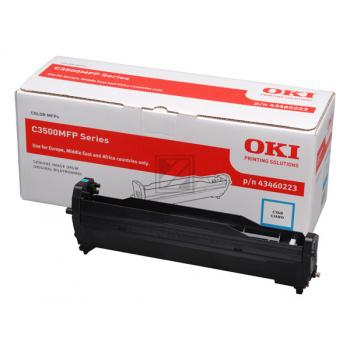 OKI Fotoleitertrommel cyan (43460223)