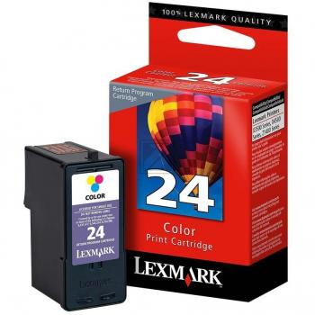 LEXMARK 24 | 190 Seiten, LEXMARK Tintenpatrone, color