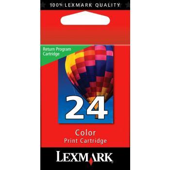 Lexmark Tintenpatrone farbig (18C1524E, 24)