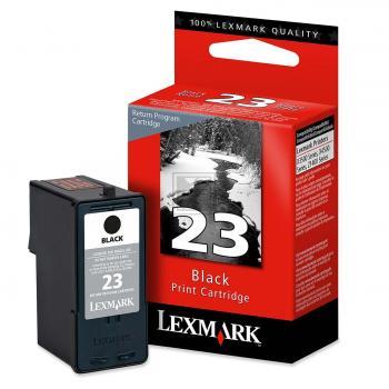 Lexmark Tintenpatrone schwarz (18C1523, 23)