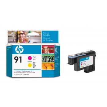 Hewlett Packard Tintendruckkopf magenta/gelb (C9461A, 91)