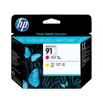 HP 91, HP Druckkopf, magenta und gelb