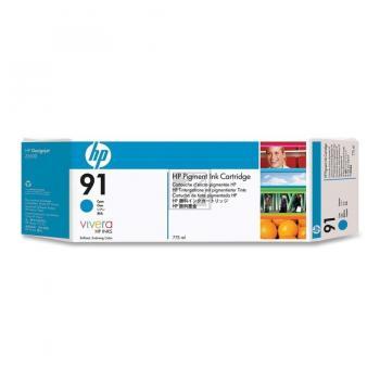 Hewlett Packard Tintenpatrone cyan (C9467A, 91)