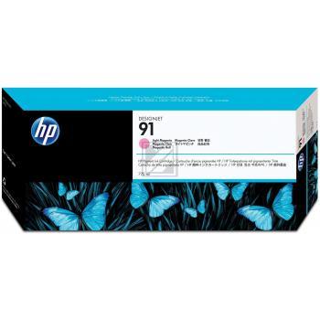 Hewlett Packard Tintenpatrone magenta (C9468A, 91)