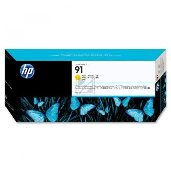 Hewlett Packard Tintenpatrone gelb (C9469A, 91)