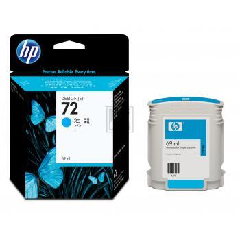 Hewlett Packard Tintenpatrone cyan (C9398A, 72)