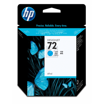HP 72 | 69ml, HP Tintenpatrone, cyan