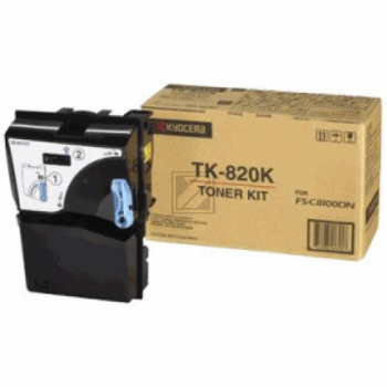 KYOCERA TK820K | 15000 Seiten, KYOCERA Tonerkassette, schwarz