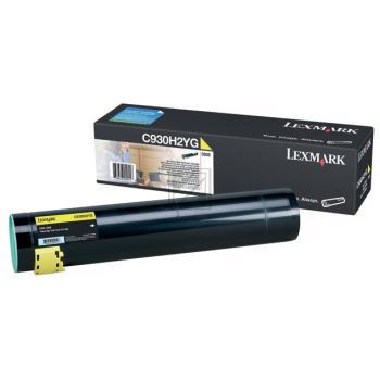 Lexmark Toner-Kit gelb (C930H2YG)