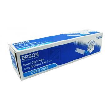 Epson Toner-Kartusche cyan (C13S050318, 0318)