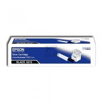 Epson Toner-Kartusche schwarz (C13S050319, 0319)