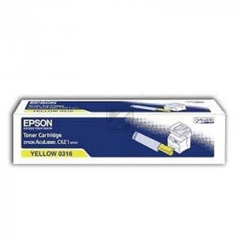 Epson Toner-Kartusche gelb (C13S050316, 0316)