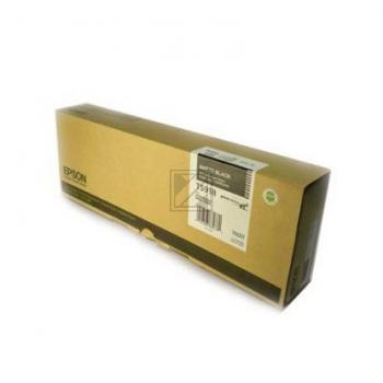 Epson Tintenpatrone Ultra Chrome schwarz matt (C13T591800, T5918)