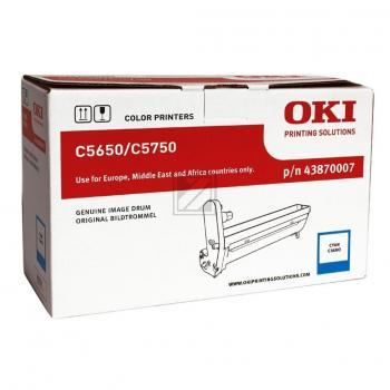 OKI Fotoleitertrommel cyan (43870007)