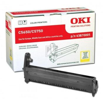 OKI Fotoleitertrommel gelb (43870005)