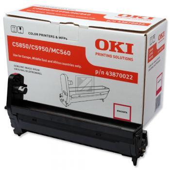 OKI Fotoleitertrommel magenta (43870022)