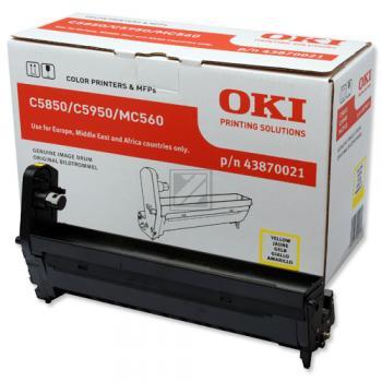 OKI Fotoleitertrommel gelb (43870021)