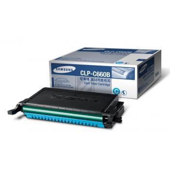 Samsung Toner-Kartusche Kartonage cyan High-Capacity (CLP-C660B, 660)