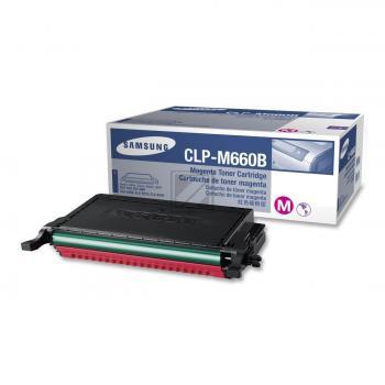 Samsung Toner-Kartusche Kartonage magenta High-Capacity (CLP-M660B, 660)