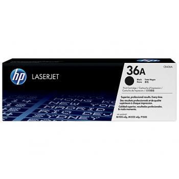 Hewlett Packard Toner-Kartusche schwarz (CB436A, 36A)