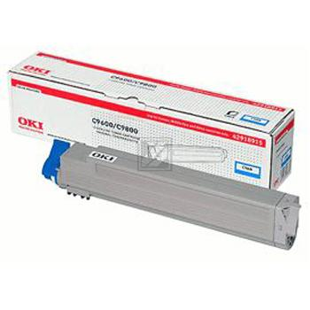 OKI Toner-Kit cyan High-Capacity (42918915)