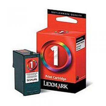 Lexmark Tintenpatrone cyan/gelb/magenta 2-er Pack High-Capacity (80D2955, 1)