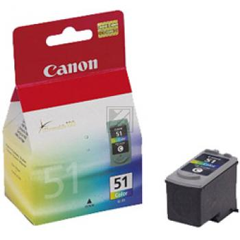 Canon Tintenpatrone cyan/gelb/magenta High-Capacity (0618B001, CL-51)