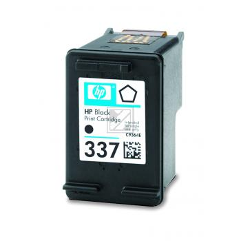 Hewlett Packard Tintenpatrone schwarz High-Capacity (C9364EE, 337)