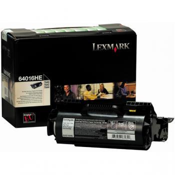 Lexmark Toner-Kartusche schwarz High-Capacity (64016HE)