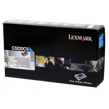 Lexmark Toner-Kartusche cyan (C5220CS)