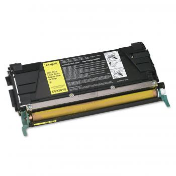 Lexmark Toner-Kartusche gelb (C5220YS)