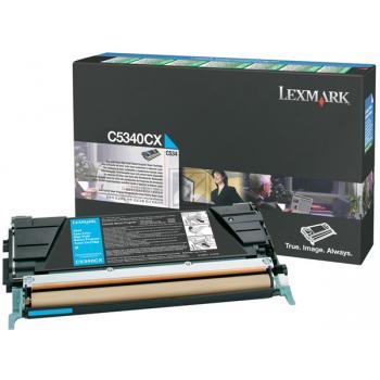 Lexmark Toner-Kartusche cyan High-Capacity plus (C5340CX)
