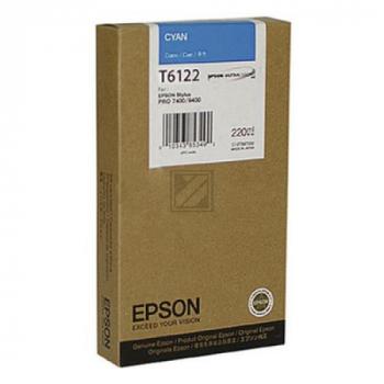 Epson Tintenpatrone cyan High-Capacity (C13T567200 C13T612200, T6122)