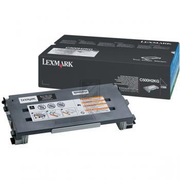 Lexmark Toner-Kartusche schwarz High-Capacity (C500H2KG)