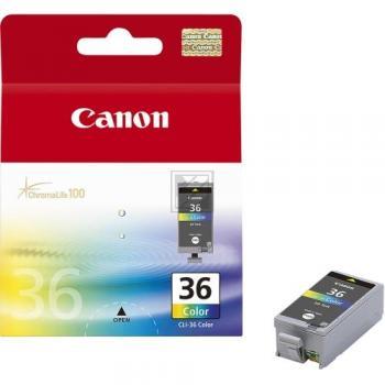 Canon Tintenpatrone gelb cyan magenta schwarz (1511B001, CLI-36)