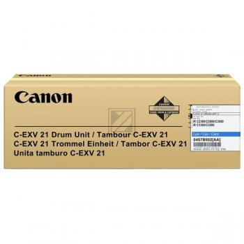 Canon Fotoleitertrommel cyan (0457B002 457B002, C-EXV21C)