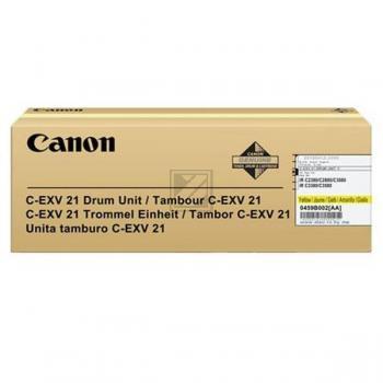Canon Fotoleitertrommel gelb (0459B002 459B002, C-EXV21Y)