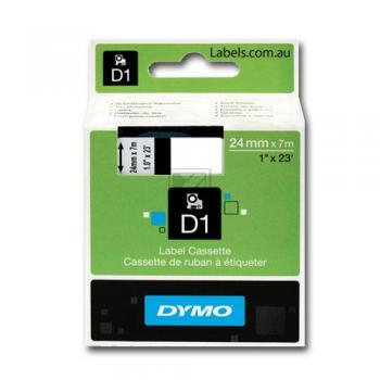 Dymo Schriftbandkassette schwarz/weiß (S0720930)