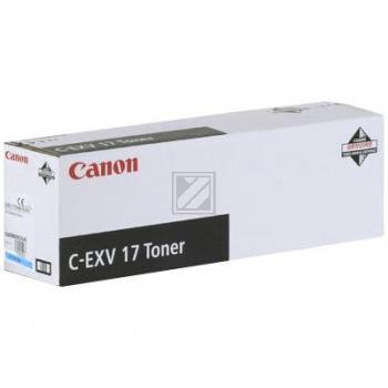 Canon Toner-Kartusche cyan (0261B002, C-EXV17C)