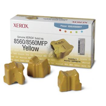 Xerox ColorStix Kartonage gelb 3-er Pack (108R00725)