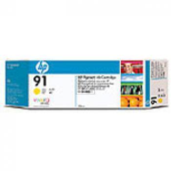 Hewlett Packard Tintenpatrone 3x gelb 3-er Pack (C9485A, 3x 91)