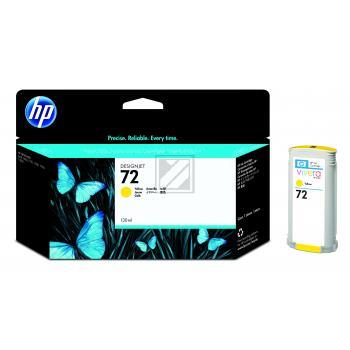 Hewlett Packard Tintenpatrone gelb High-Capacity (C9373A, 72)