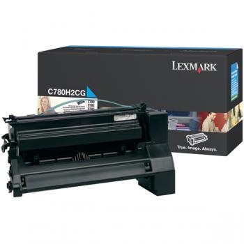 Lexmark Toner-Kartusche Kartonage cyan High-Capacity (C780H2CG)